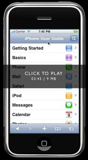iphone 3 user guide pdf
